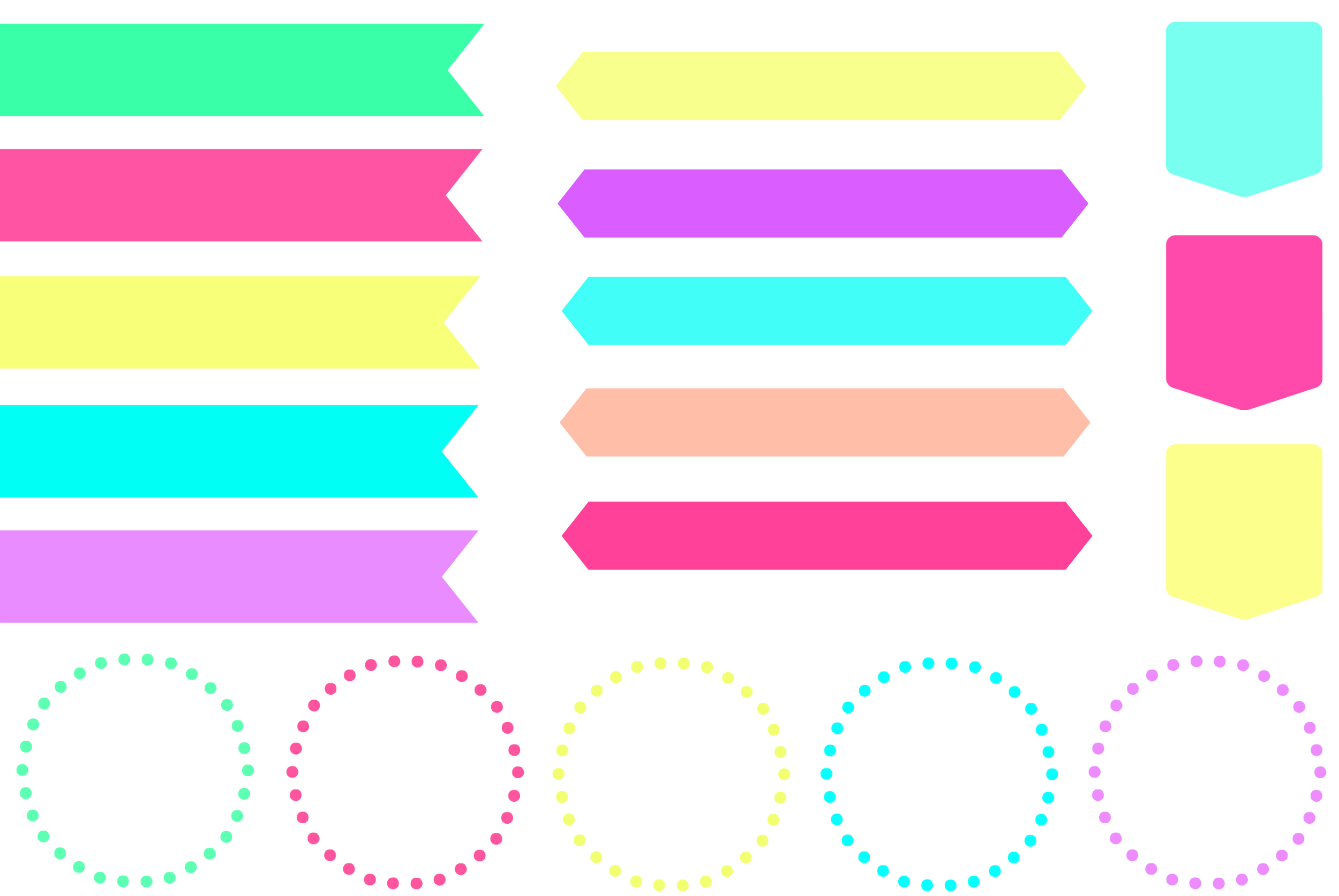 2500x1674 Color Clipart Banner