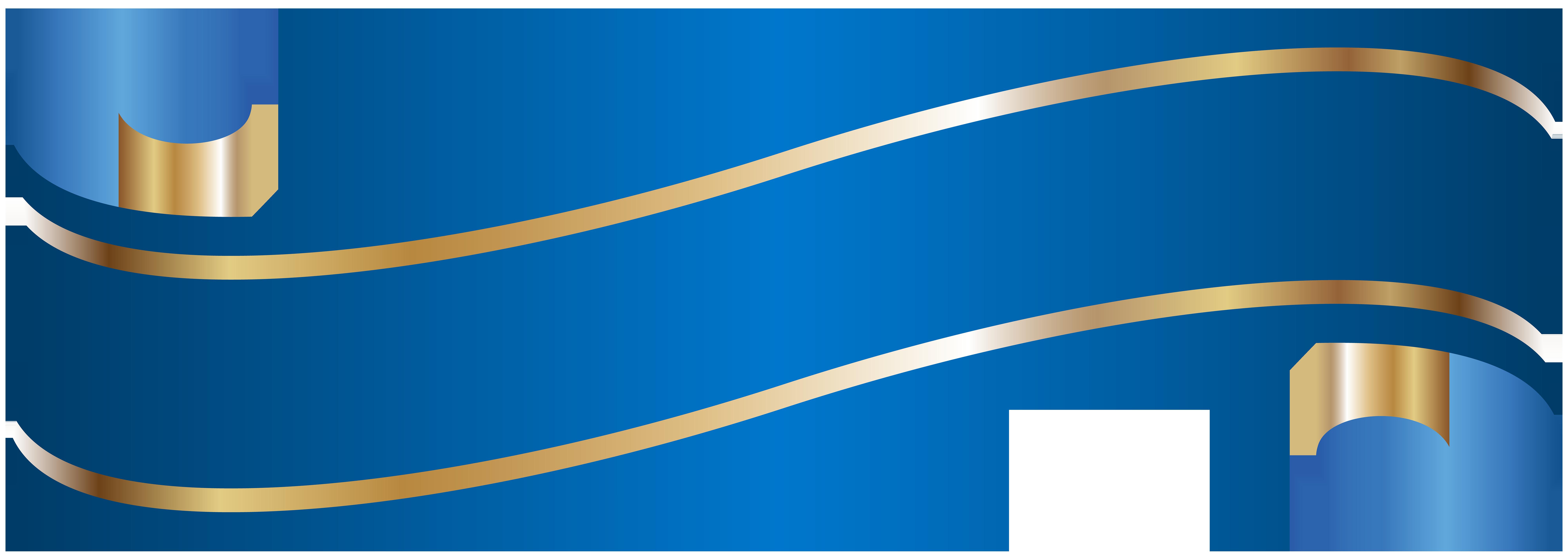 8000x2847 Elegant Banner Blue Png Clip Artu200b Gallery Yopriceville