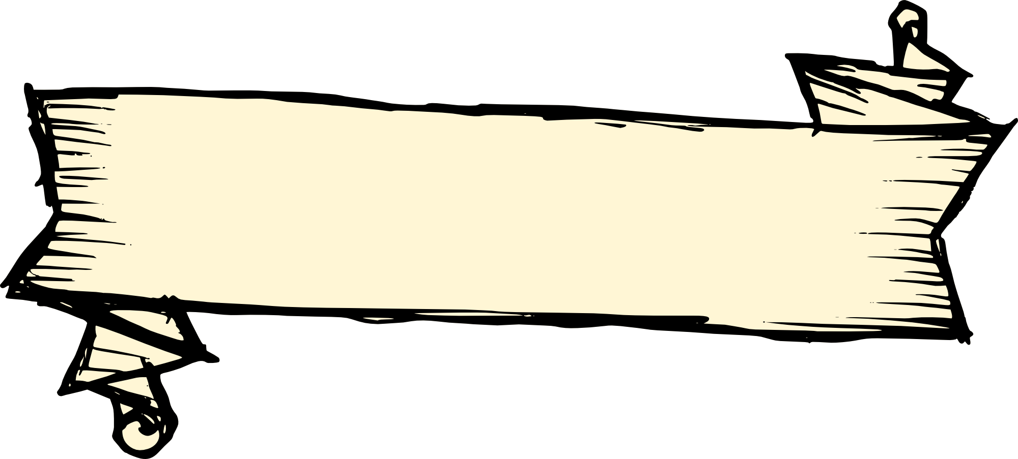 2000x903 6 Banner Drawing Vector (Svg, Png Transparent)