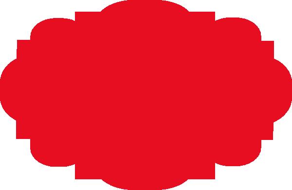 600x391 Red Banner Clip Art