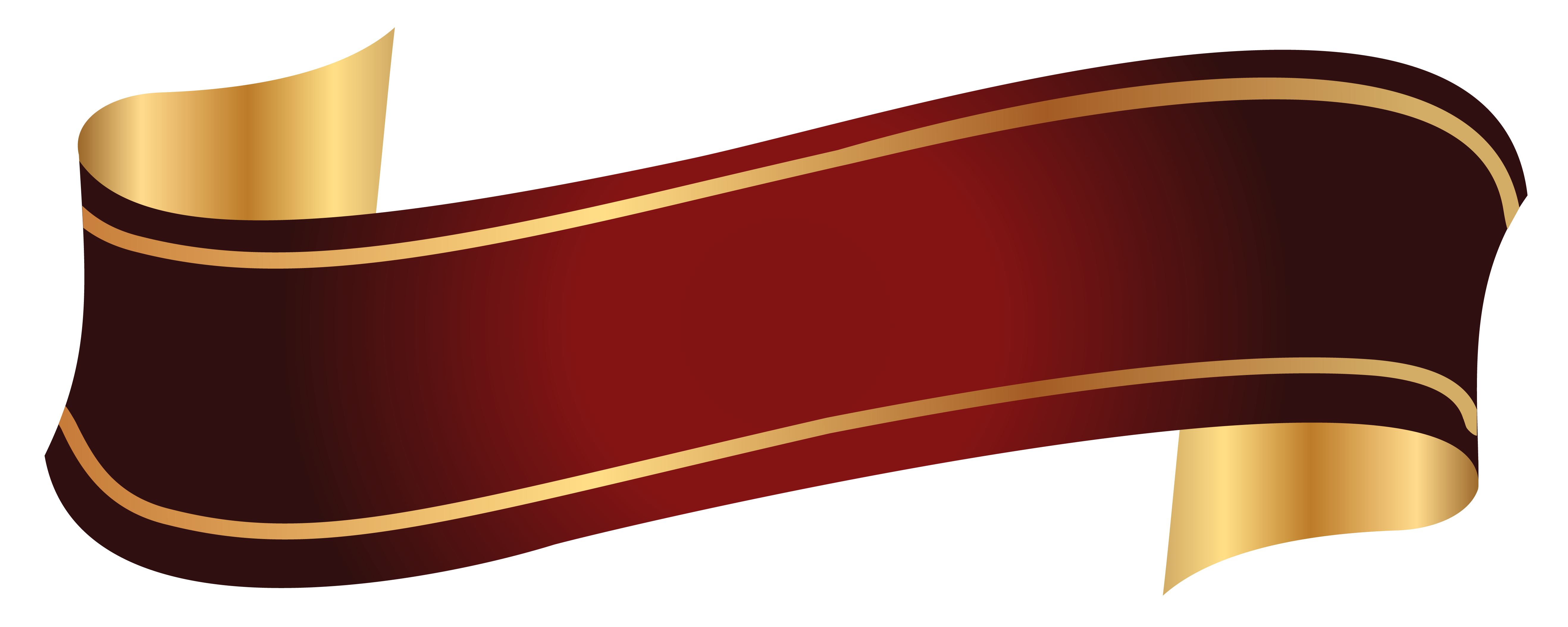 5271x2110 Red And Gold Banner Png Clipart Imageu200b Gallery Yopriceville