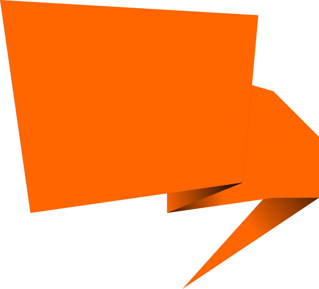 1024x927 6 Origami Speech Bubble Banner Vector (Png Transparent, Svg