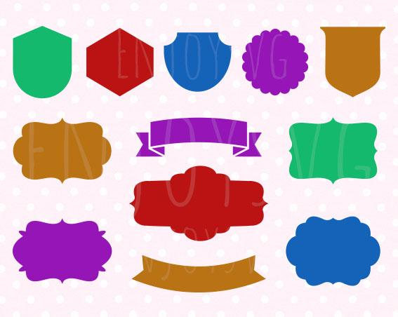 567x452 Shield Banners Bunting Svg Shield Svg Banner Shapes Svg Shield