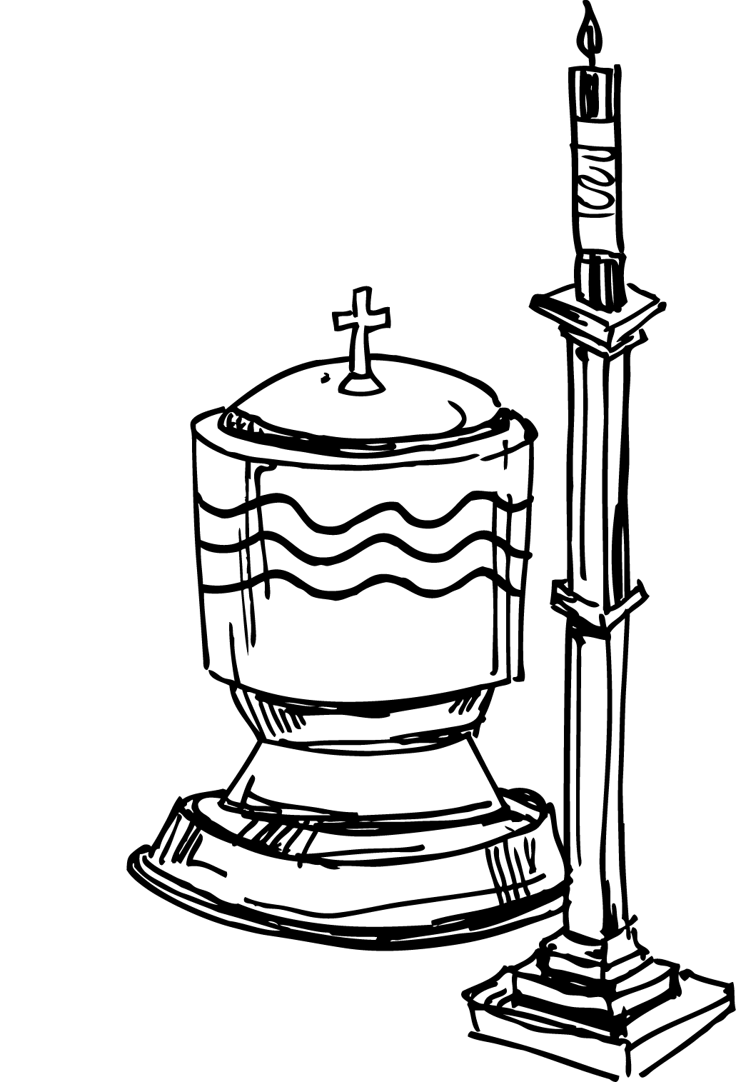 1031x1515 Baptism Cross Clip Art Free Clipart Images 2