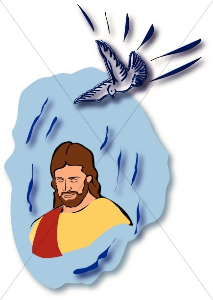 435x612 Baptism Of The Lord Images, Baptism Of Jesus Clipart