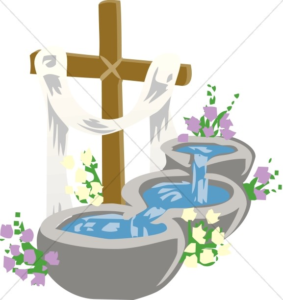 577x612 Christening Clipart