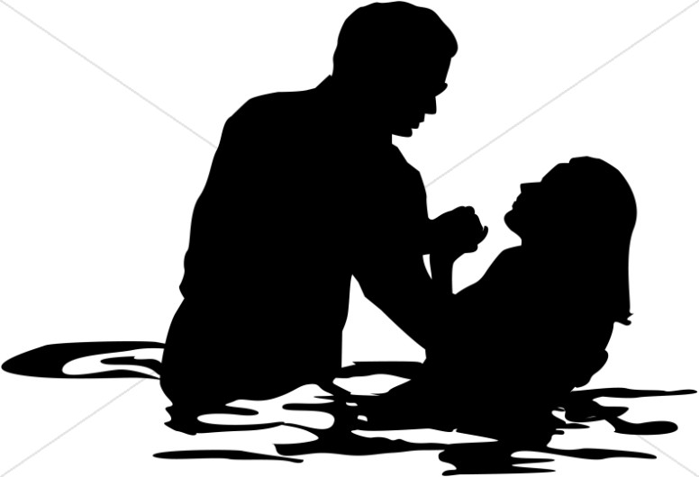 776x530 Adult Female Full Immersion Baptism Baptism Clipart