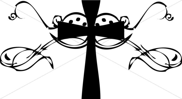 Baptism Cross Cliparts