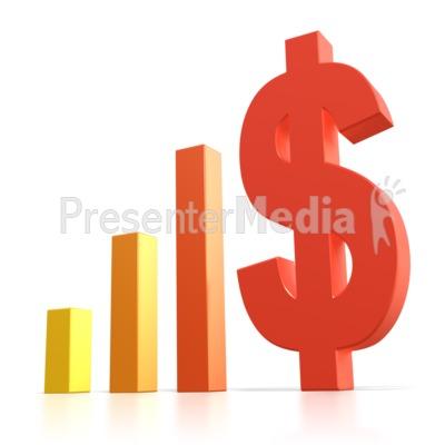 dollar sign pillars