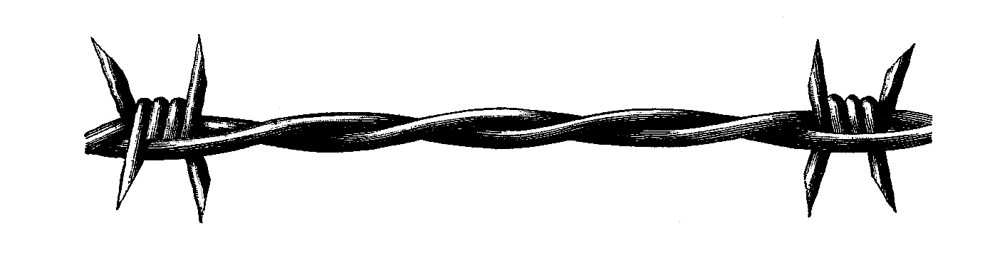 1383x365 Wire Clipart Barbed Wire