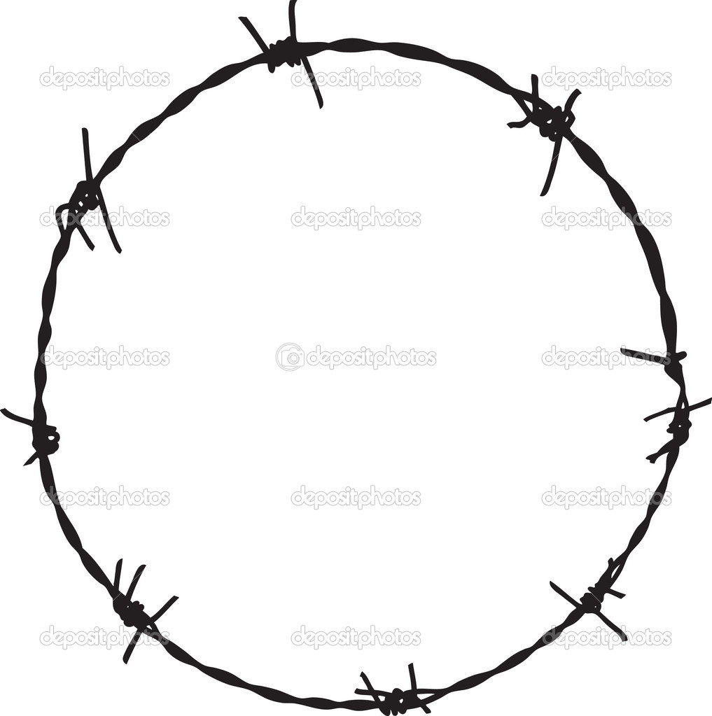 Barbed wire clipart free download best