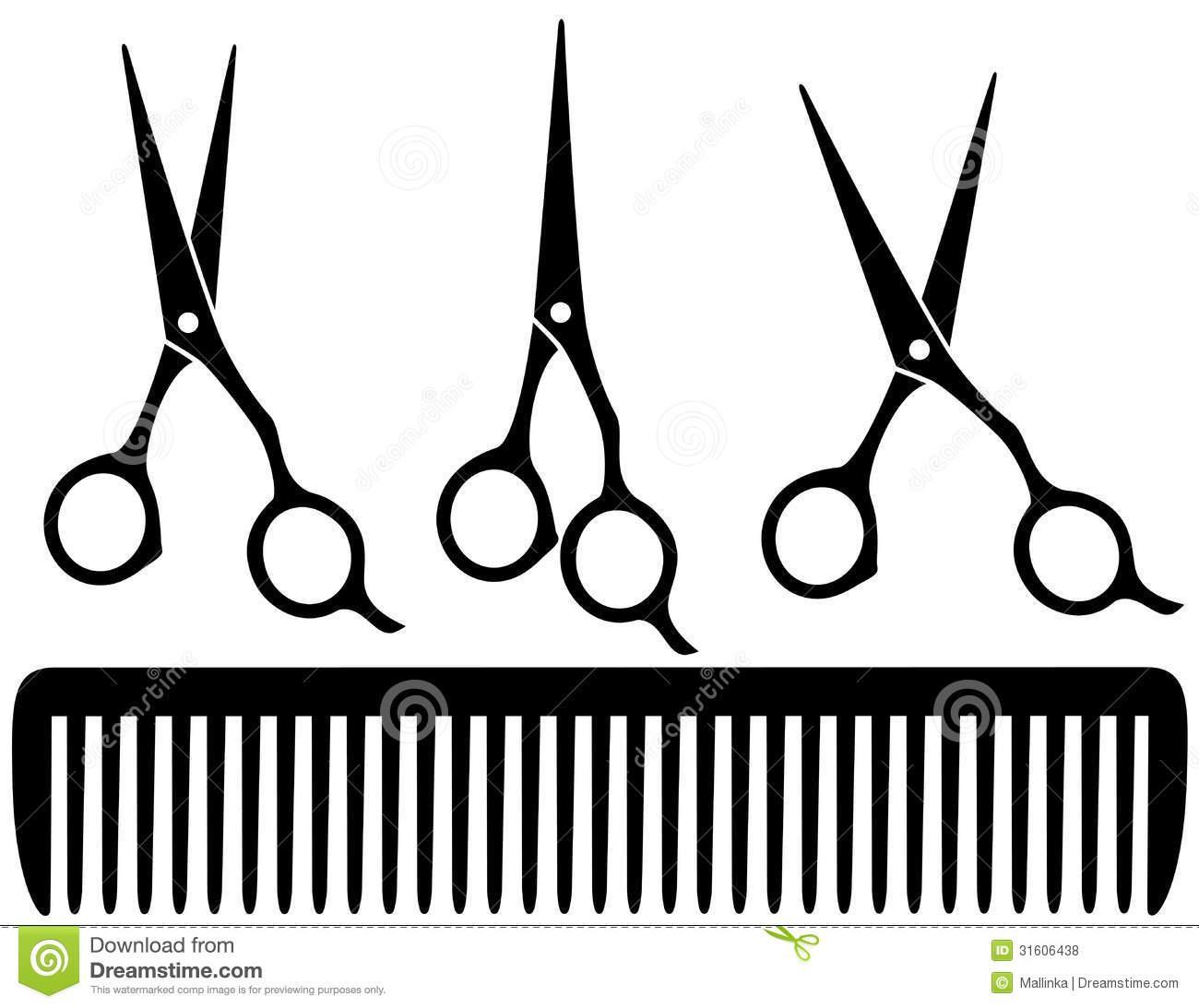 1300x1093 Hair Tools Clipart
