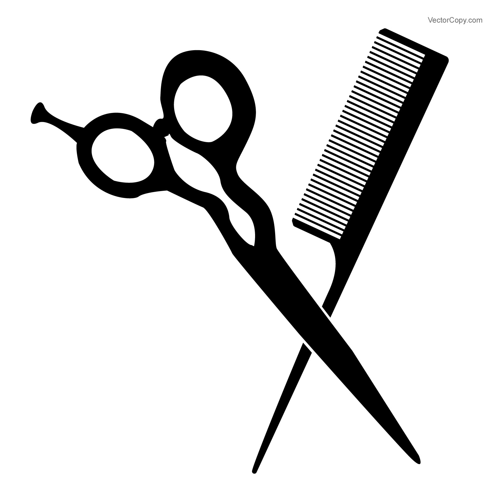 1600x1600 Scissor And Combs Clipart