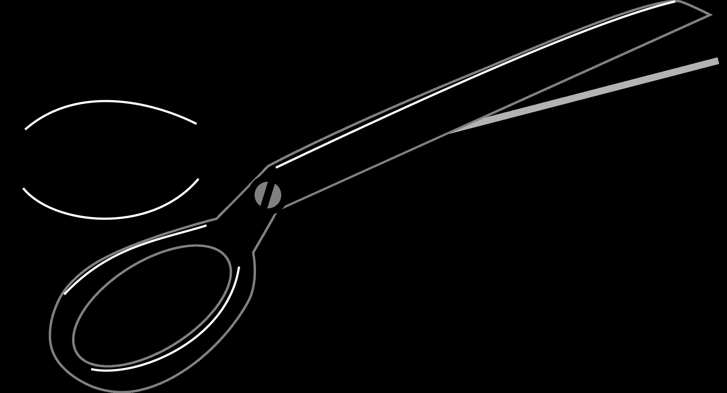 2400x1299 Scissors Clip Art 2