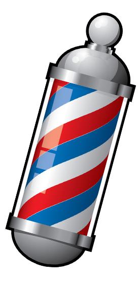 Animated Barber Pole Barber Shop Clipart | ...