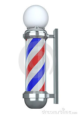 Barber Shop Pole Clipart