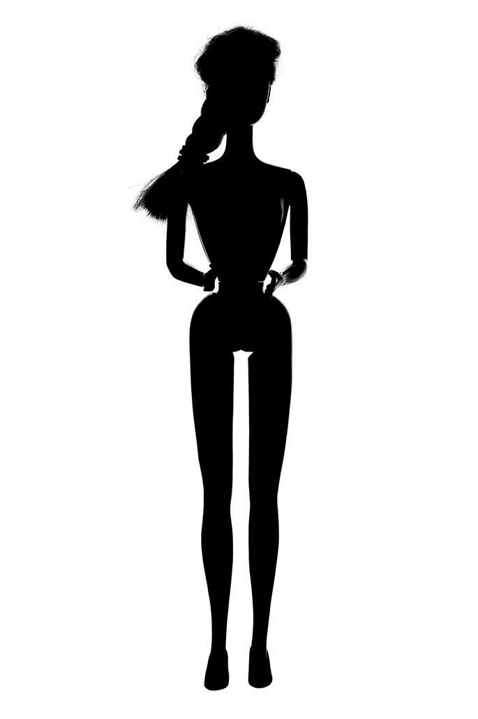 685x1029 Barbie Clip Art