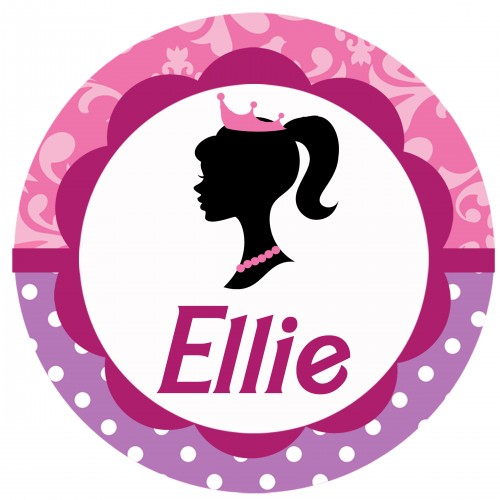 500x500 Barbie Clipart Barbie Silhouette