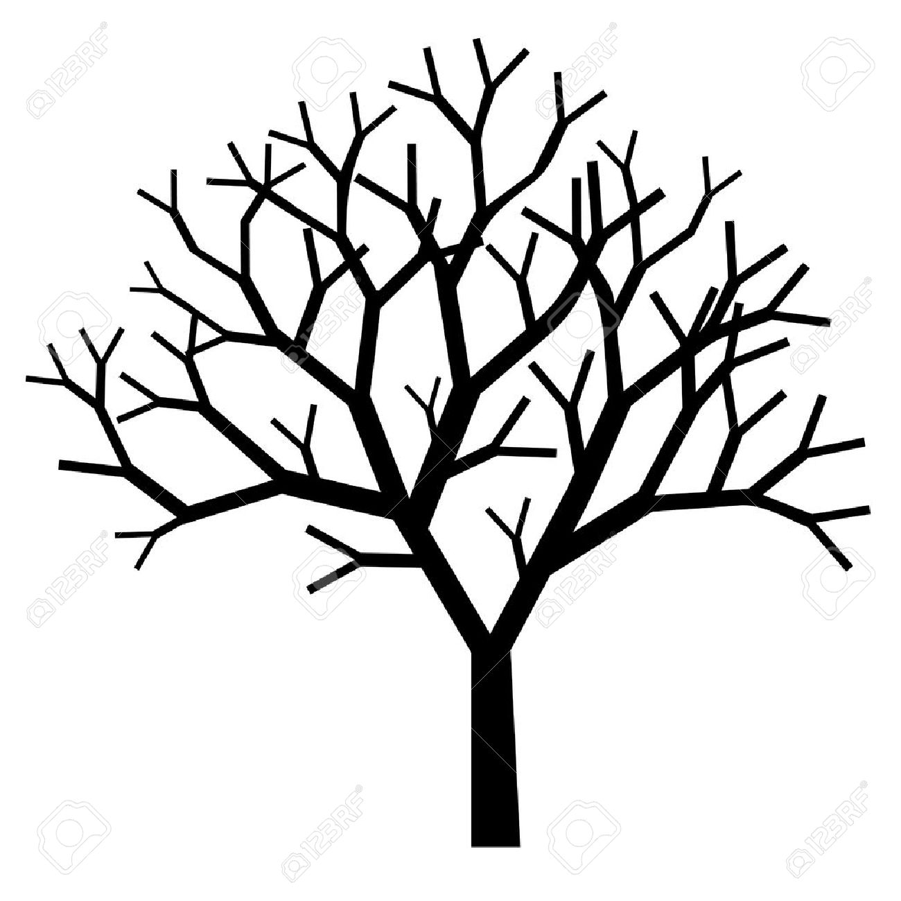 1300x1300 Dead Tree Clipart Bare Tree Branch