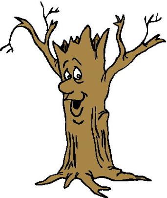 342x405 Dead Tree Bare Tree Clip Art
