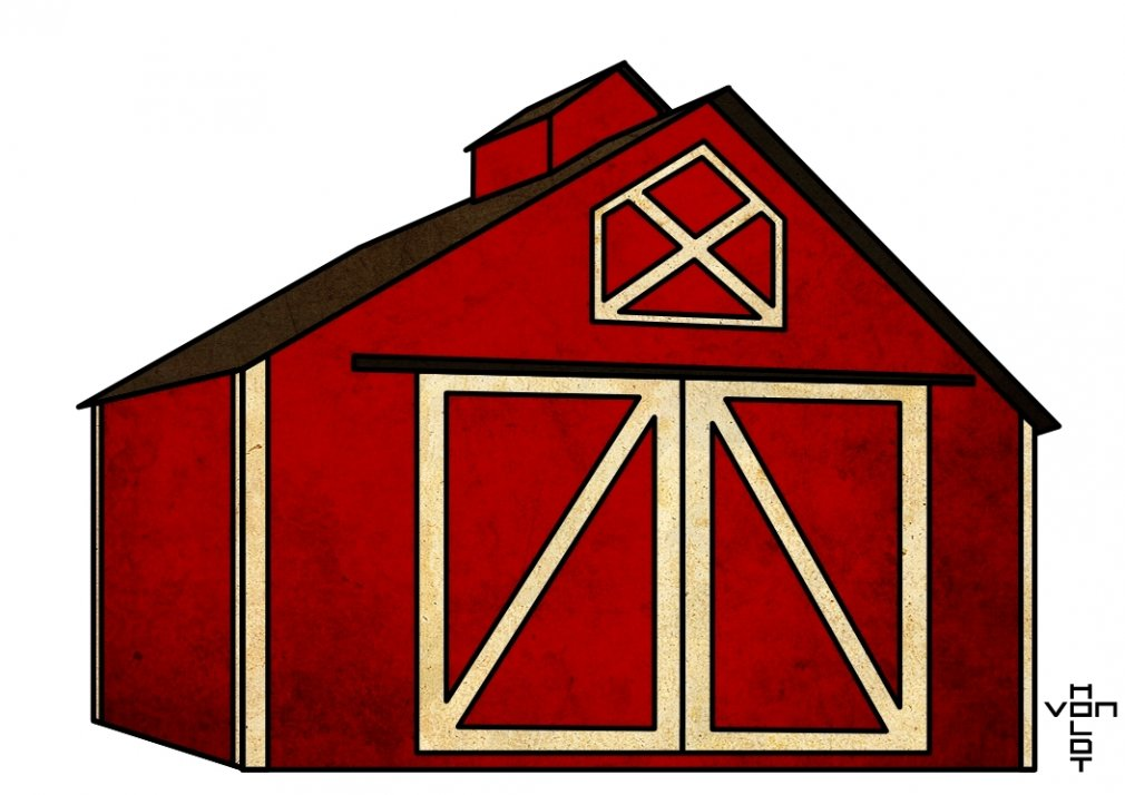 1010x714 Farm Barn Clip Art Clipart Image (Exceptional Barn Images Clip Art