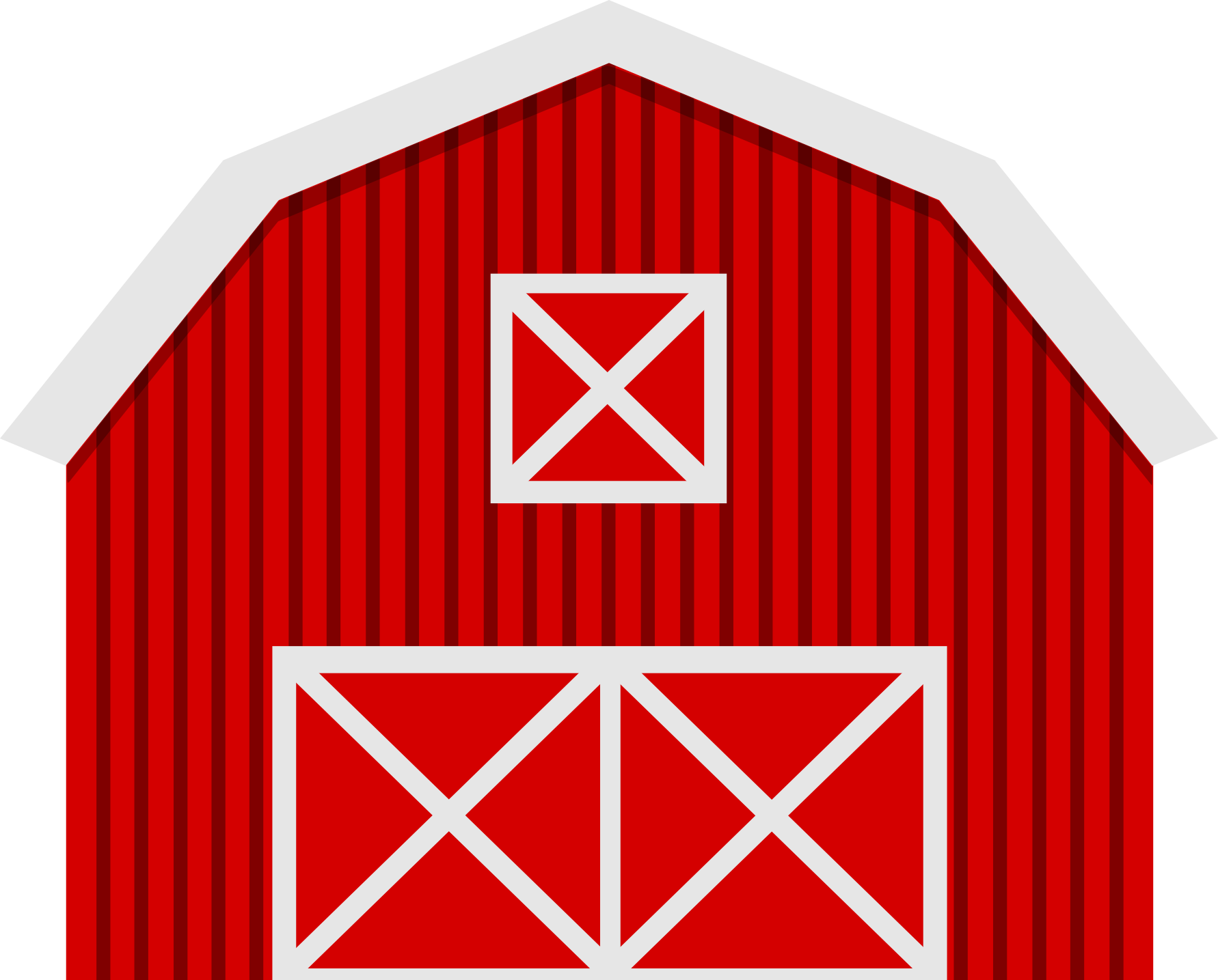 1782x1435 Black And White Cartoon Barn Clip Art Vector
