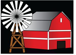 300x216 Free Barn Clipart Image