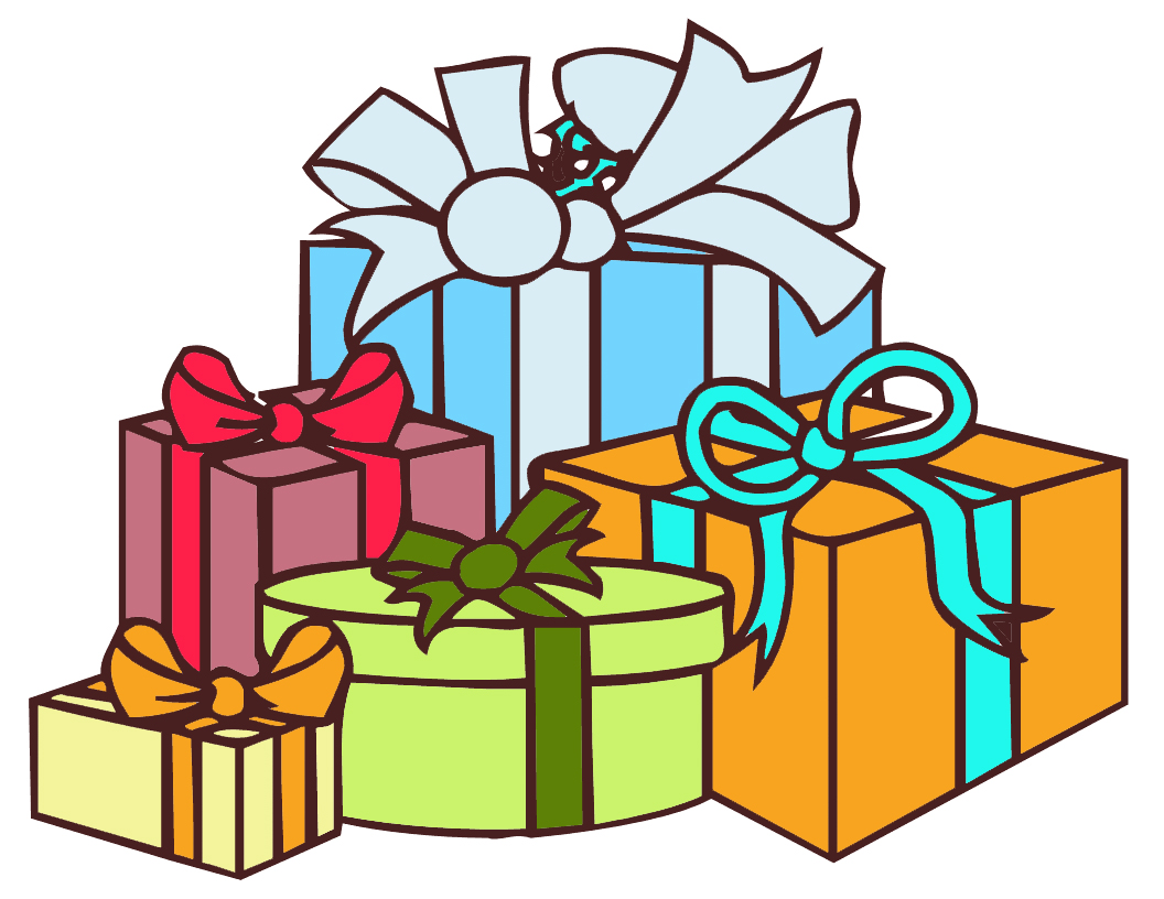 1056x816 Gift Clipart Free