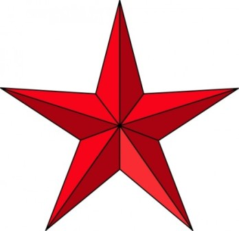 348x336 Barn Star Clipart