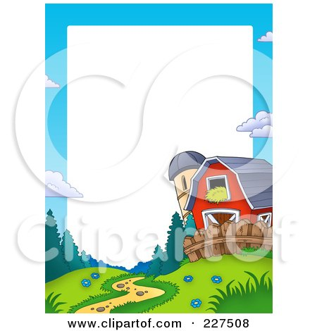 450x470 Royalty Free (Rf) Red Barn Clipart, Illustrations, Vector Graphics