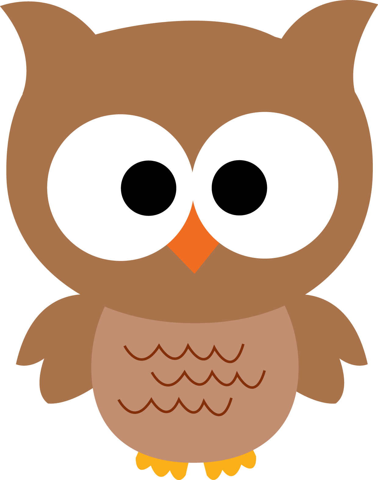 Barn Owl Cartoon Clipart