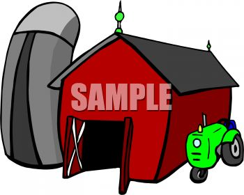 350x280 Barn Clipart Animated