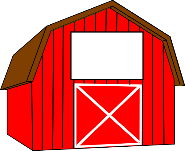 600x490 Barn Clipart Cute