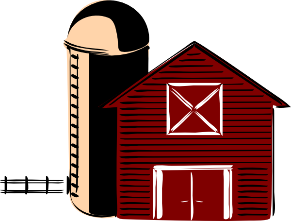 600x455 Barn Clipart Simple