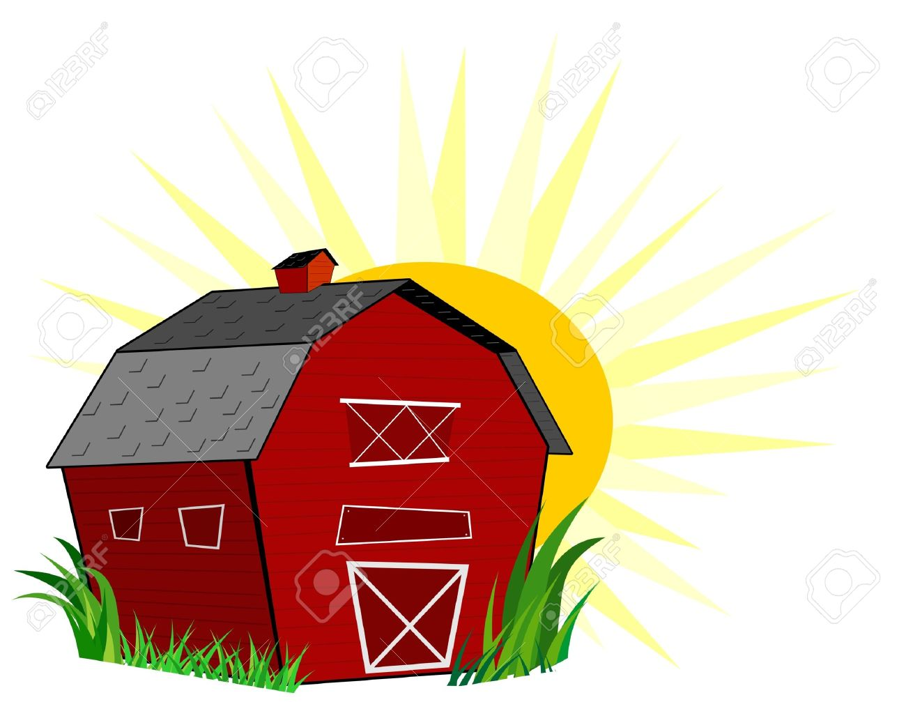 1300x1007 Grass Barn Clipart, Explore Pictures
