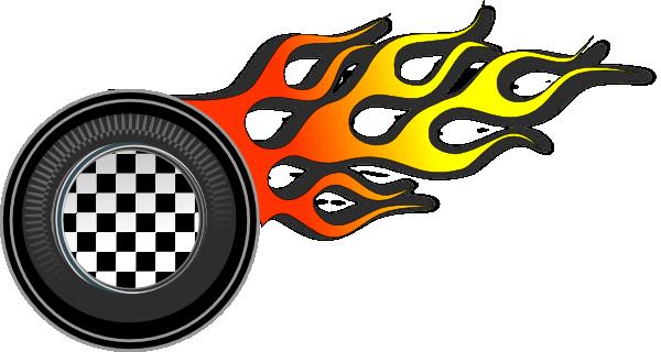 600x320 Racing Wheel Clipart