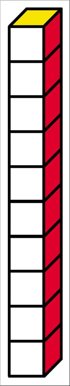 Rainbow Base Ten Blocks Clipart Set {Zip-A-Dee-Doo-Dah Designs}   TpT