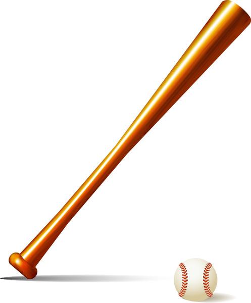 497x600 Baseball Bat And Base Ball Clip Art Free Vector Download (213,857
