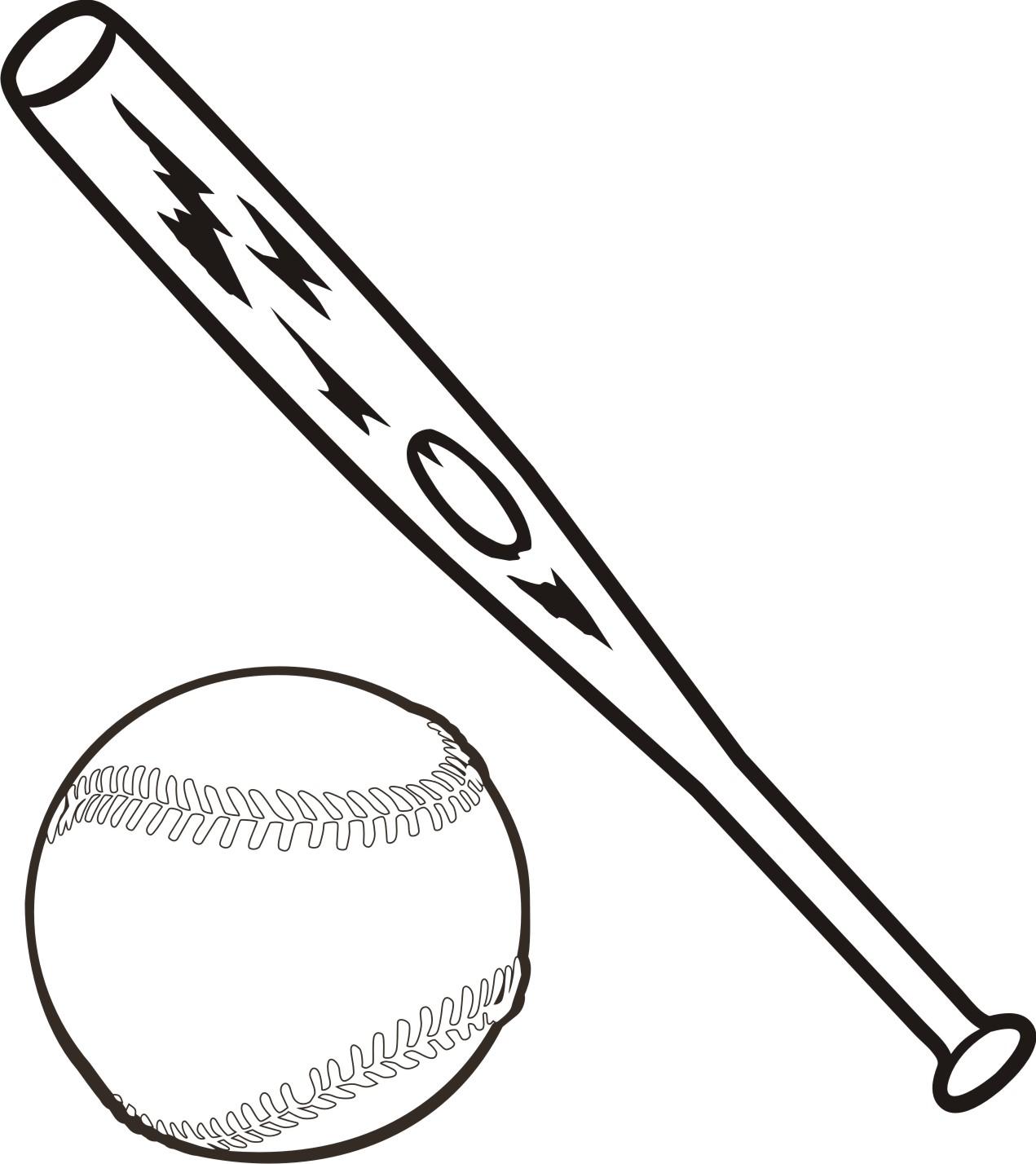 1271x1428 Baseball Bat Baseball Crossed Bats Clipart Clipart Kid 2
