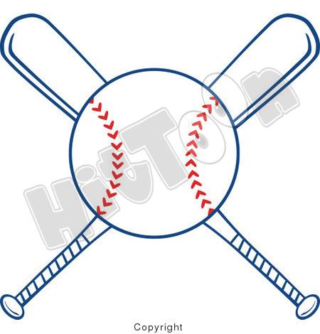 450x470 Sideway Baseball Ball Clipart
