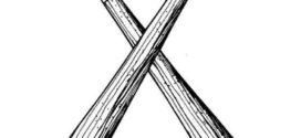 272x125 White Baseball Bat Clip Art