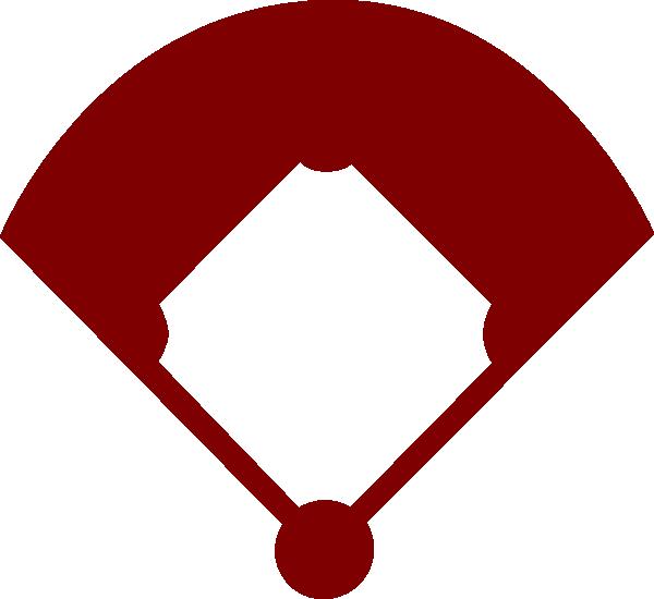 600x550 Baseball Field Clip Art