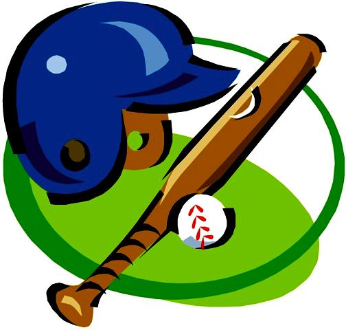 504x480 Baseball Clip Art Free Clipart Clipartcow 7
