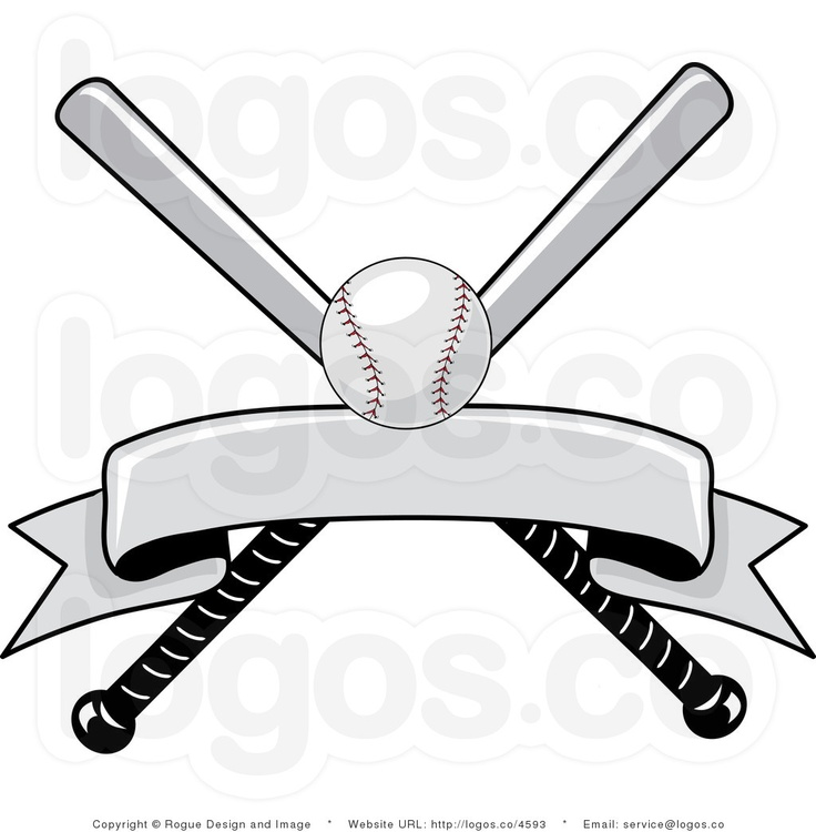 Baseball Bat And Ball Clipart