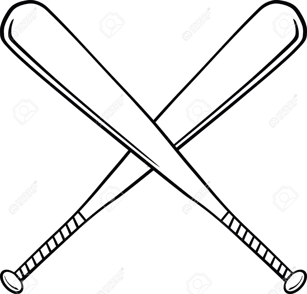 1300x1244 Baseball Bat Clipart Hard Object