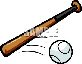 350x274 Baseball Bat And Moving Ball