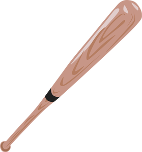 Baseball Bat Clipart Black And White