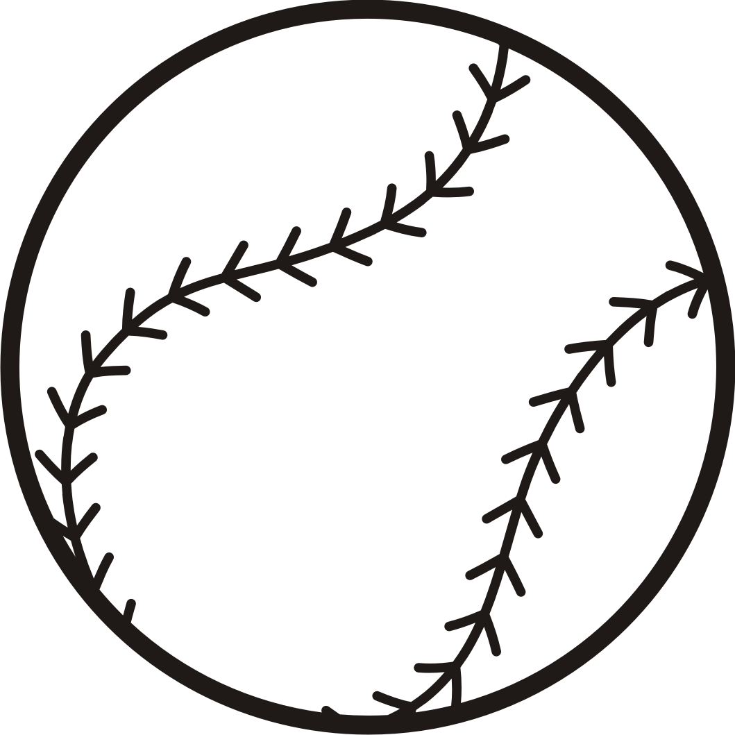 1059x1059 Baseball Clipart Black And White Many Interesting Cliparts