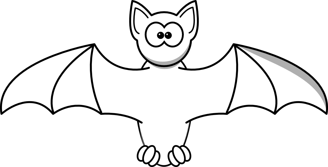 1331x678 Bat Black And White Bat Clipart Black And White Free Images