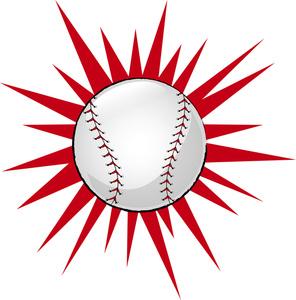 296x300 Baseball Clipart Image
